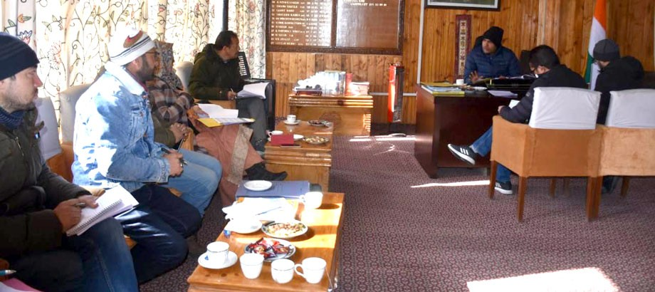 DC, Kargil, chairs meeting of District Mineral Foundation Trust