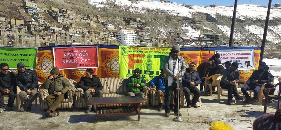 10-day Ice Hockey Training Camp under Fit India Movement concludes in Kargil