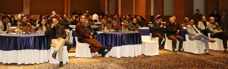 R.K. Mathur inaugurates Ladakh Pavilion at SATTE- 2020, Delhi