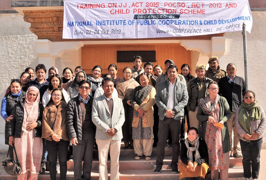 Training on Child Protection Acts held in Leh