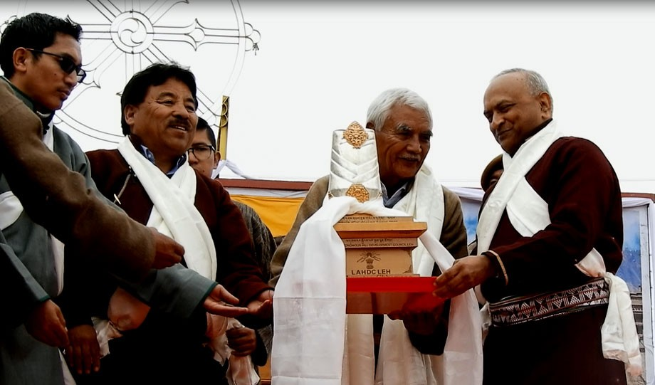 4th Ladakh dPal-rNgam-Duston celebrates with great zeal