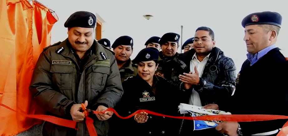IGP, Ladakh,  inaugurates DSP,  Traffic, office in Agling
