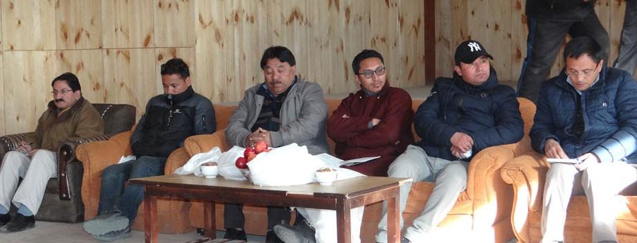 Jamyang Tsering Namgyal visits Phyang constituency